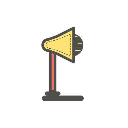 desk lamp Stock Vector - 106668658