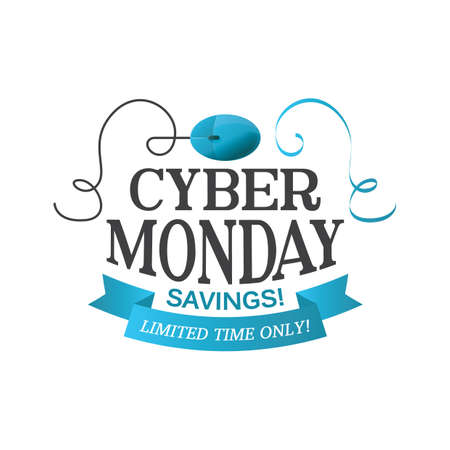 cyber monday sale wallpaper Ilustrace
