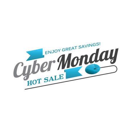 cyber monday sale wallpaper 向量圖像