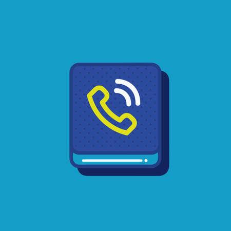 call icon Illustration