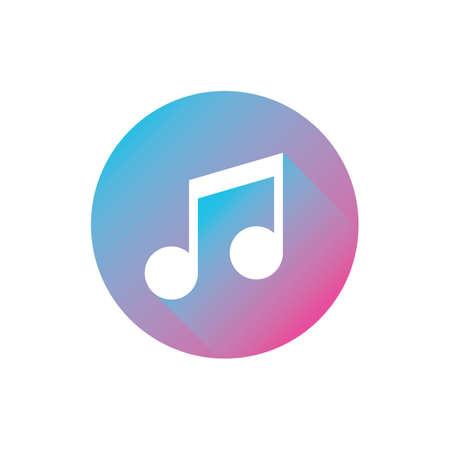 music player icon 向量圖像