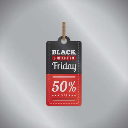 black friday sale tag Çizim
