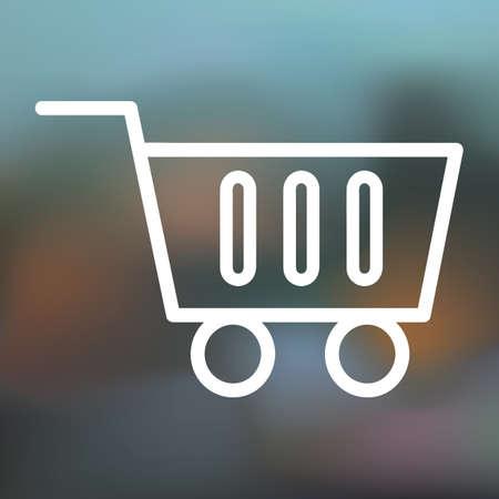 online shopping icon Çizim