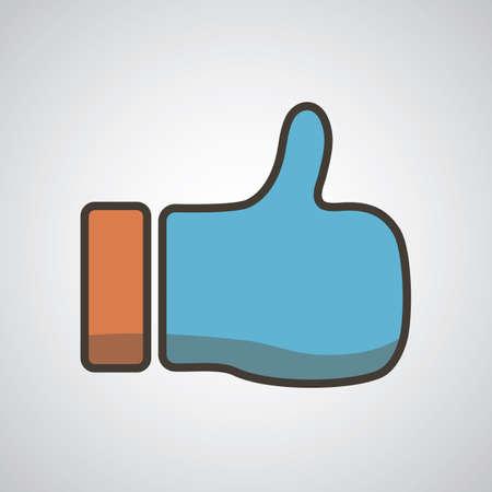 like icon Illustration