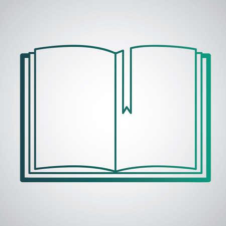 日記  イラスト・ベクター素材