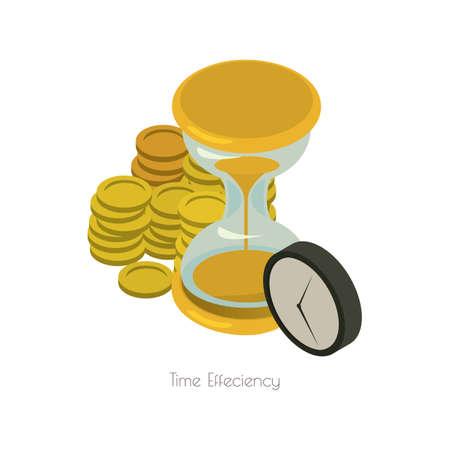 time efficiency Illustration