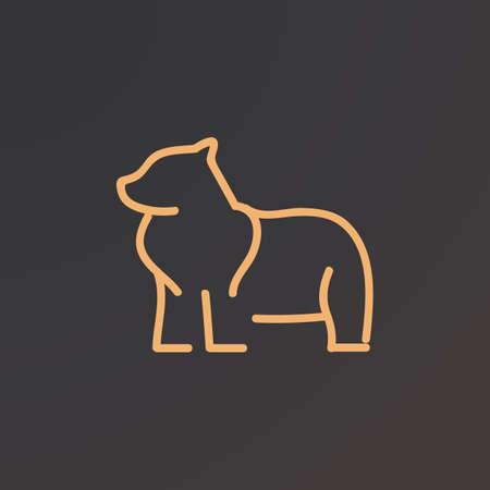 bear 矢量图像