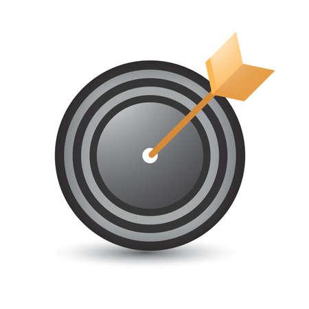 dartboard Ilustracja