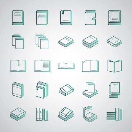 Verzameling van boeken en dagboeken