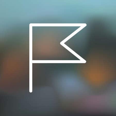 flag icon 矢量图像