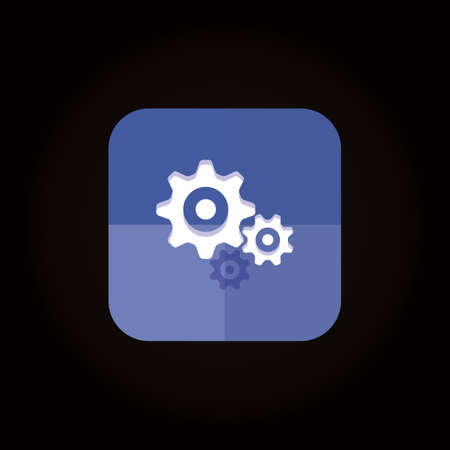 settings icon Illustration