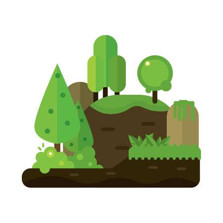 landscape of nature