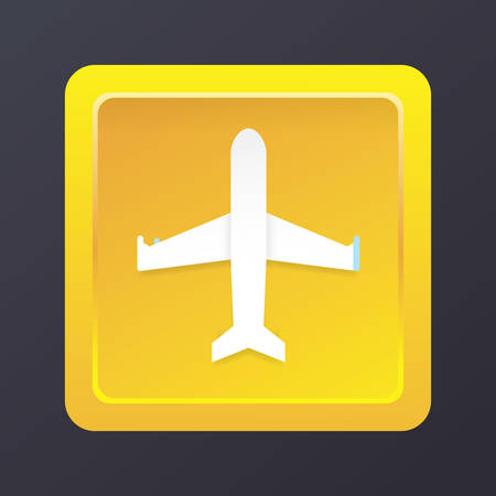 airplane mode icon 向量圖像