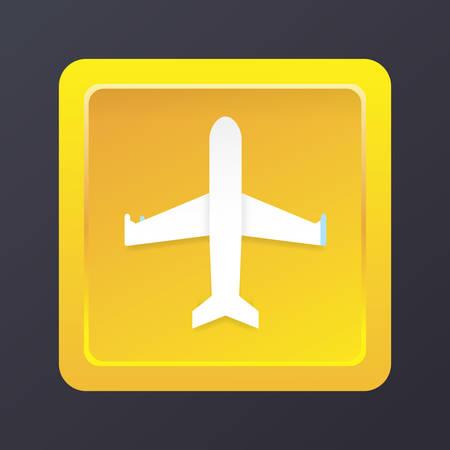 airplane mode icon Illustration