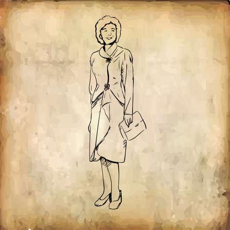 woman Çizim