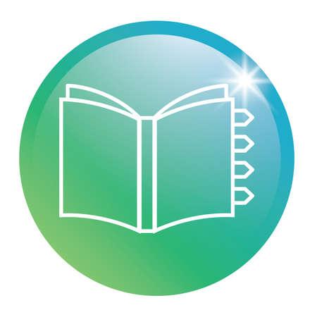 diary: Diary glossy button