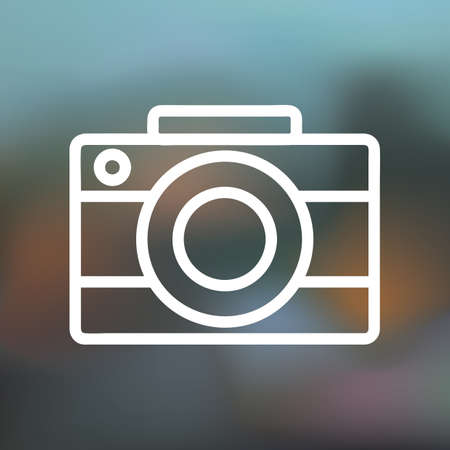 camera icon Stock fotó - 106668922