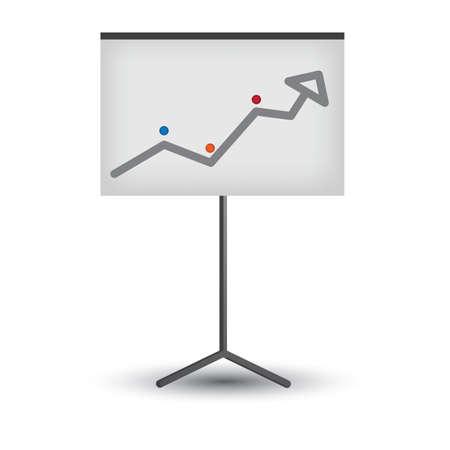 分析とプロジェクター スクリーン