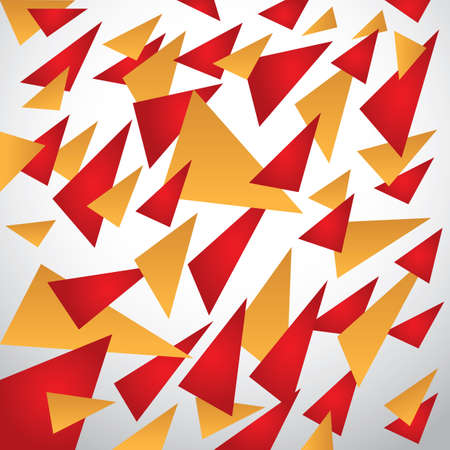 scattered triangle background
