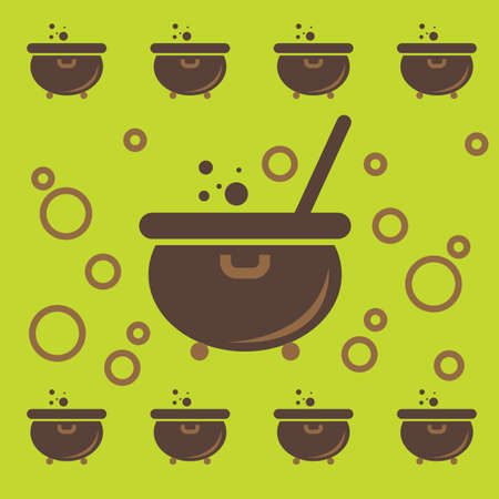 cauldron pattern background