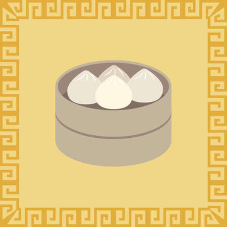 dim sum Illustration