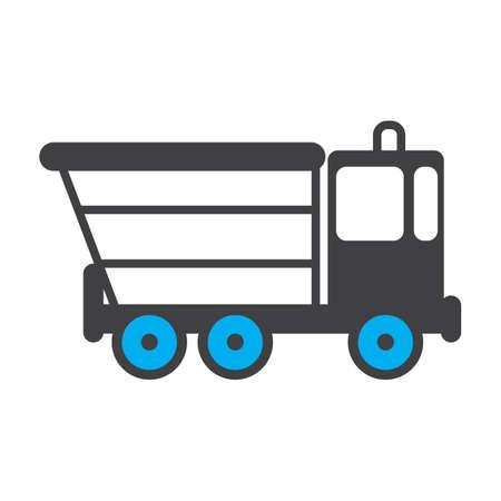 ダンプ トラック  イラスト・ベクター素材