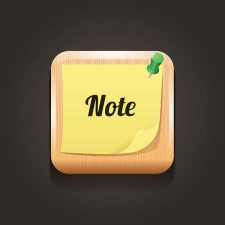note icon Illustration