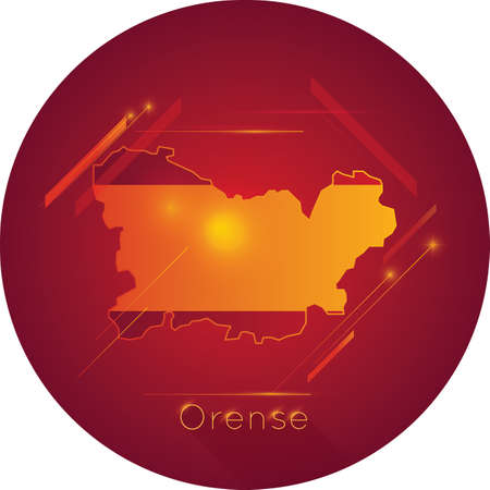 Orense map