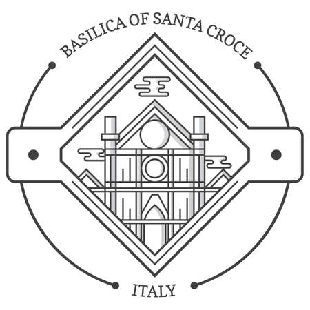 basilica of santa croce Stok Fotoğraf - 81590245