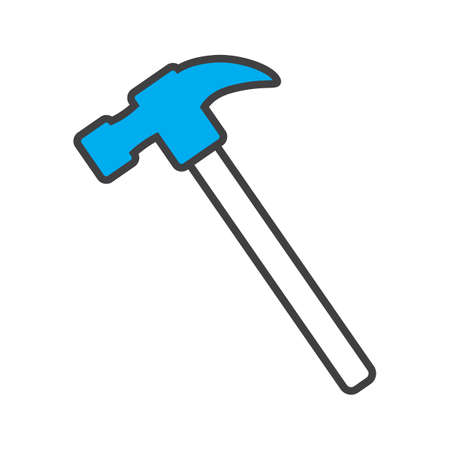 claw hammer Stock Vector - 81589980