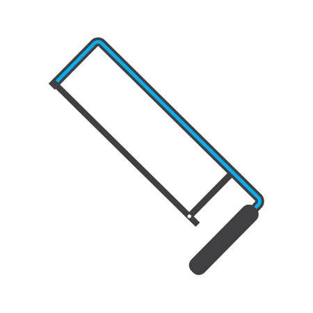 hacksaw blade Ilustração