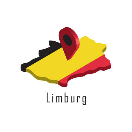 limburg map with map pointer