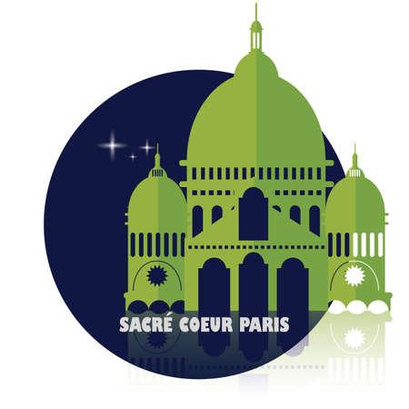 Sacre Coeur Standard-Bild - 81601115