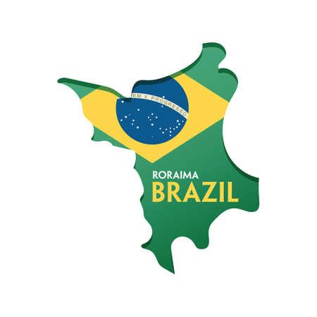 roraima map