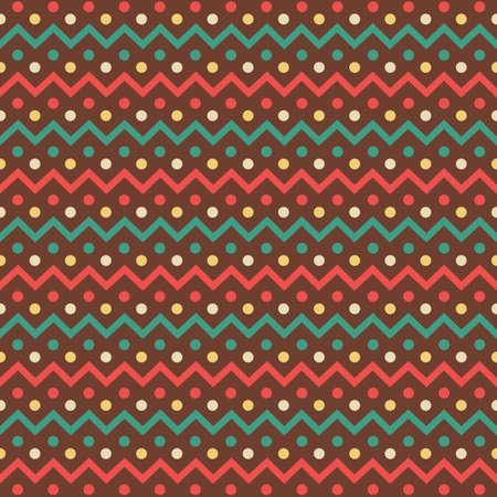 seamless zig-zag background