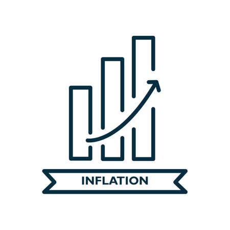 inflation Stock Illustratie