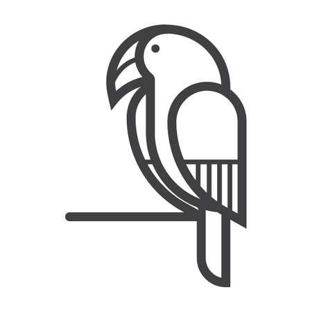 parrot 일러스트