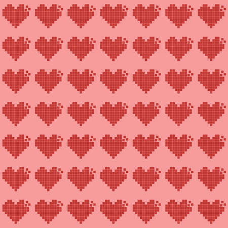 heart patterns background