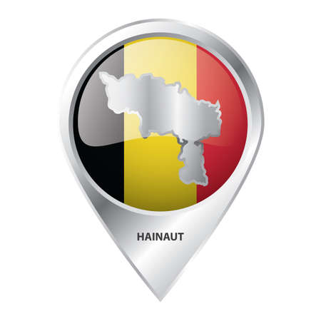 map pointer with hainaut map