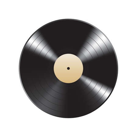 Schallplatte Vektorgrafik