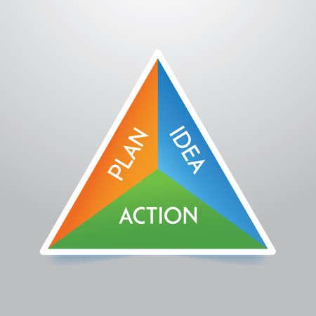 business strategy Illusztráció