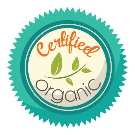 certified organic product label