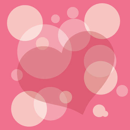 heart pattern background Stock Vector - 81535633