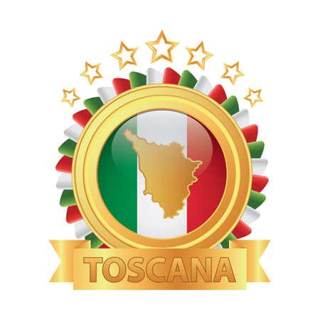 toscana map 版權商用圖片 - 81590128