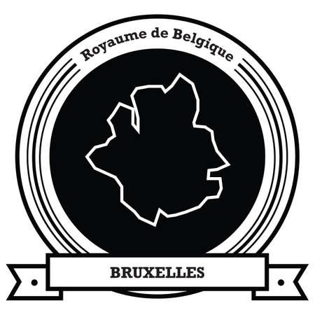 bruxelles map label