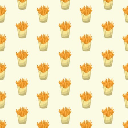 background with french fries