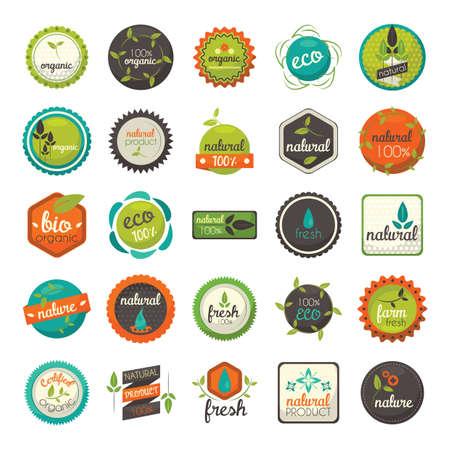 유기농 식품 라벨의 수집