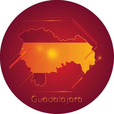 guadalajara: Guadalajara map