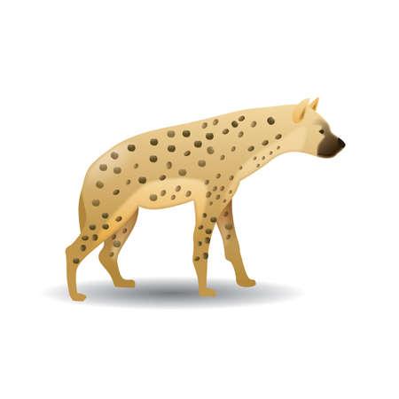 hyena Illusztráció