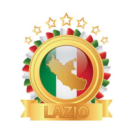 lazio map 向量圖像